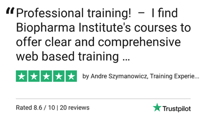 BioPharma Institute Reviews