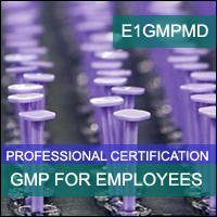 Certification Training cGMP for Medical Devices Professional Certification Program