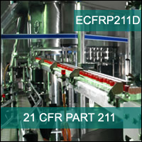 Certification Training 21 CFR Part 211 Subpart D: Equipment
