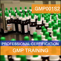 Certification Training cGMP for Microbiology and Contamination Control Professional Certification Program