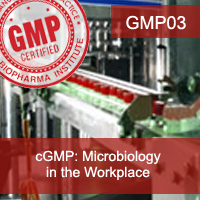 Certification Training cGMP: Microbiology in the Workplace