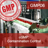 Certification Training cGMP: Contamination Control
