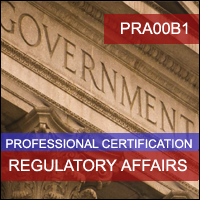 Certification Training US Pharmaceutical Regulatory Affairs Professional Certification Program