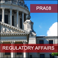 Certification Training Regulatory Affairs: The Regulatory Pathway to Licensing Follow-on Biologics (Biosimilars) in the USA